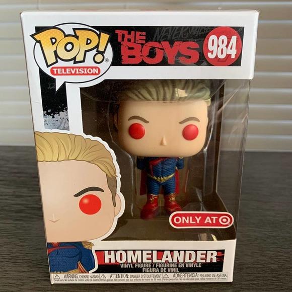 Funko Pop The Boys Homelander Target EXC